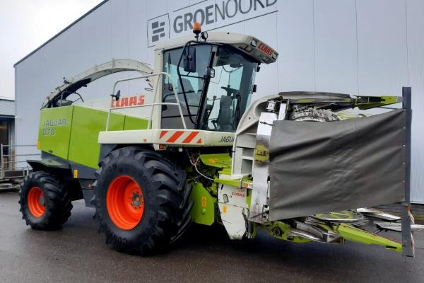 Claas Jaguar 870 + RU450 + PU300HD